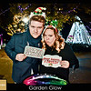 Garden Glow at MOBOT - Fish Eye Fun Photos!
