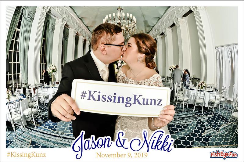Nikki & Jason - Fish Eye Fun Photos!