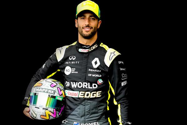 2020 Formula One Drivers Portraits
