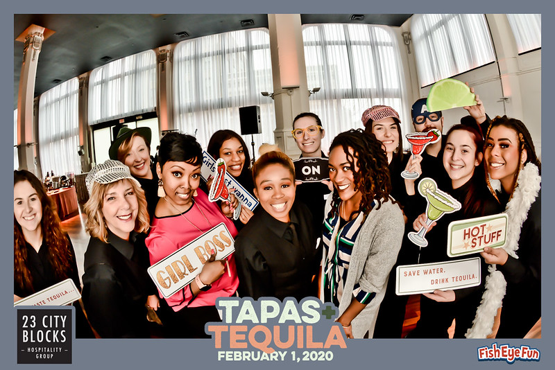 1st Annual Tapas & Tequila by 23 City Blocks! - Fish Eye Fun Photos! #FishEyeFun #23CityBlocks
