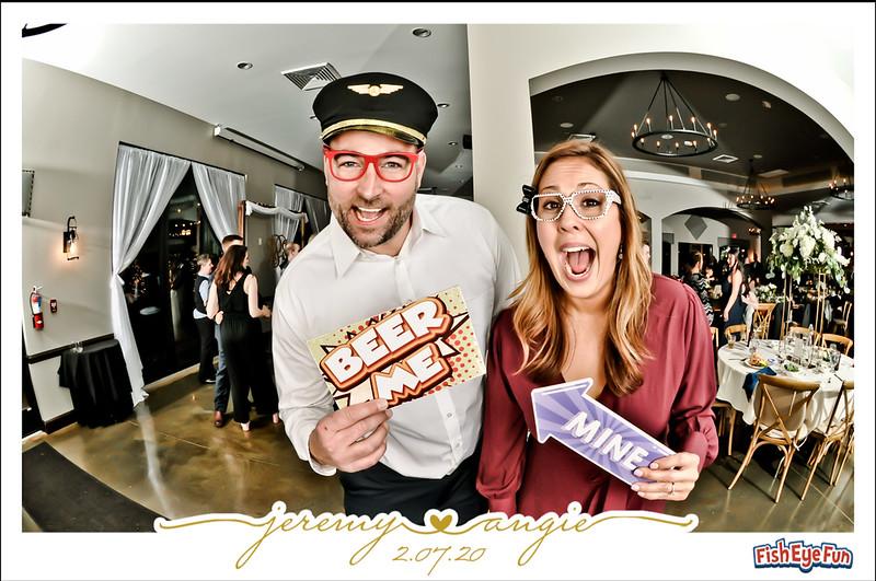 Angie & Jeremy - Fish Eye Fun Photos! #FishEyeFun
