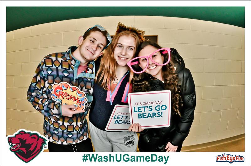 Wash U Game Day - Fish Eye Fun Photos! #FishEyeFun #WashUGameDay