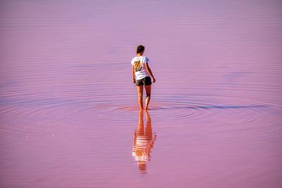 Pink Lake Beauty