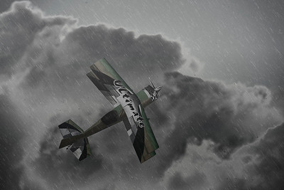 Flying into a Storm