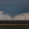 Tornado begins to widen rapidly