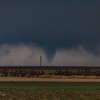 First tornado we saw from our position west of Happy, looking southwest