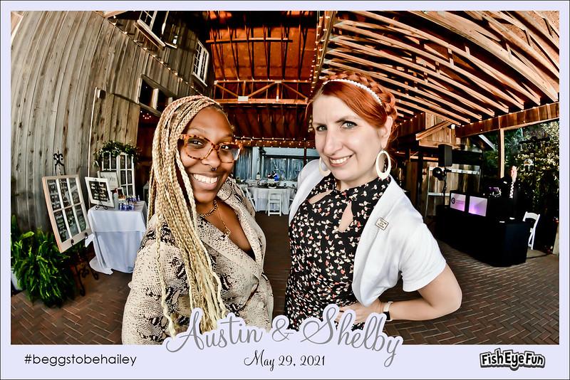 Shelby & Austin's Wedding Reception! #beggstobehailey #FishEyeFun