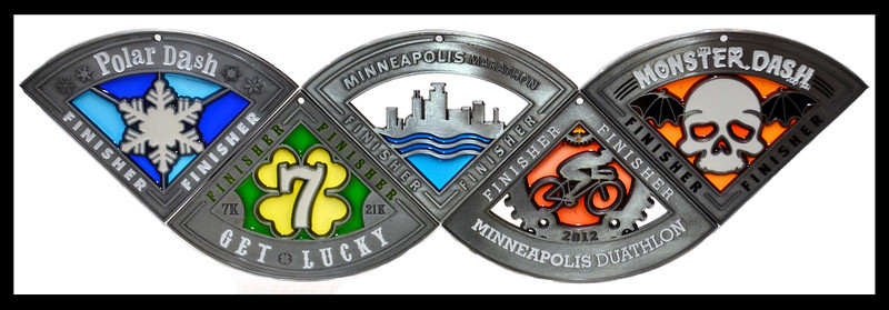 Monster Series Medals