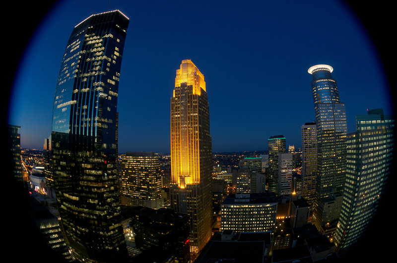 Foshay Tower, View of Downtown Minneapolis