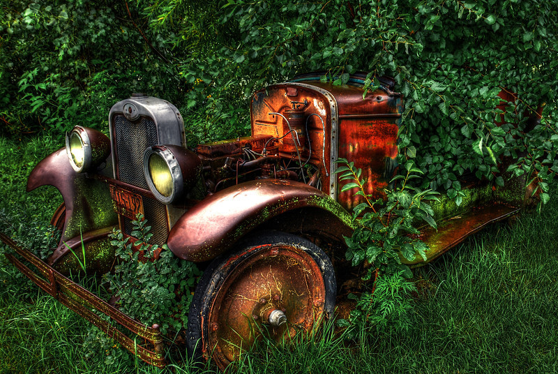 Old Rusty Auto