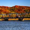 Stillwater Lift Bridge, Fall