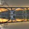 Sunset on the Mendota Bridge