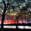 Sunset over Lake Nokomis