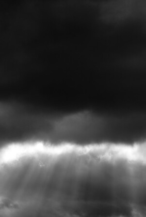 [365.331] A Break in the Clouds  <i>Rescue, California — November 27, 2009</i>  © Brendan Cox — All Rights Reserved