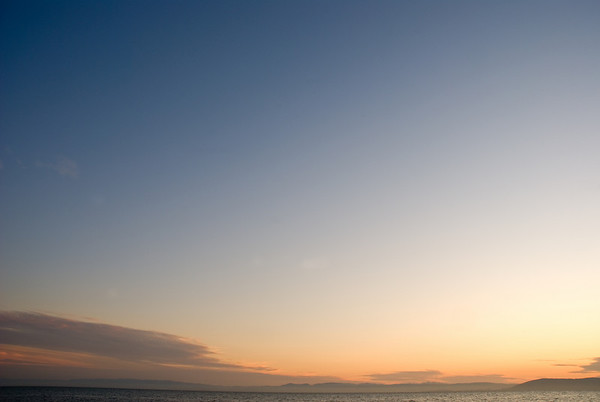 [365.315] Empty Sky <i>Alameda, California — November 11, 2009</i>  © Brendan Cox — All Rights Reserved