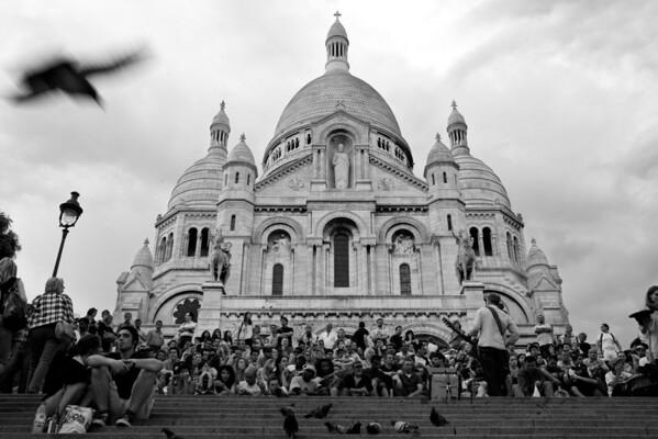 [365.152] Sacre-Coeur <I>Paris, France — June 1, 2009</i>  © Brendan Cox — All Rights Reserved