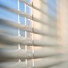 [365.106] Blinds <i>Alameda, California — April 16, 2009</i>  Taking time to notice the cheery blue sky through our blinds.  © Brendan Cox — All Rights Reserved