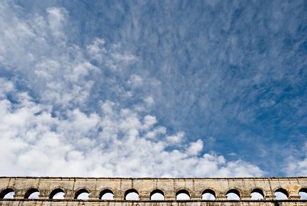 [365.162] Pont du Gard <i>Pont du Gard, France — June 11, 2009</i>  © Brendan Cox — All Rights Reserved