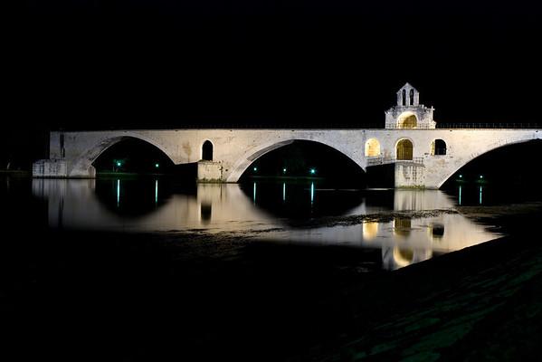 [365.163] Pont d'Avignon <i>Avignon, France — June 12, 2009</i>  Est-ce qu'on y danse..?  © Brendan Cox — All Rights Reserved