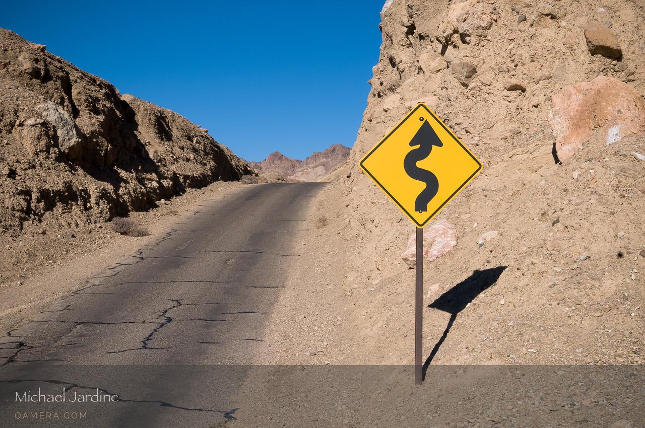 Artist Drive, Death Valley