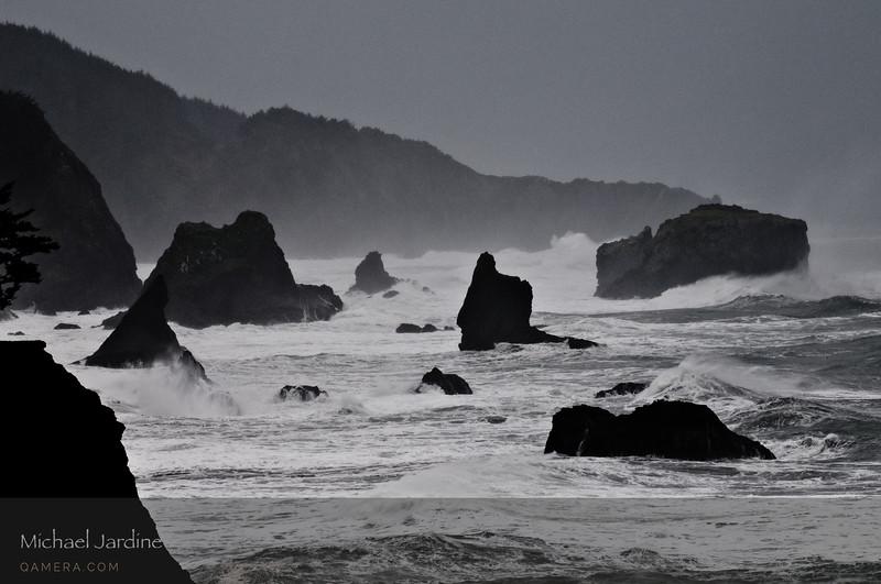 Southern Oregon coast