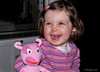 My granddaughter Holly laughing at her Uncle Jayce on March 10th