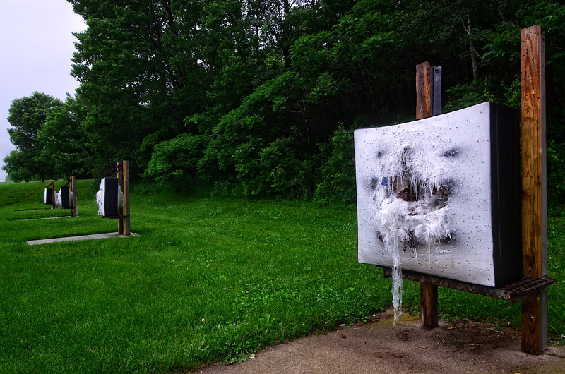 Week 23 of 52 Weeks in Eagan<br />  <br /> The archery range at Walnut Hill Park. It was a very rainy day.