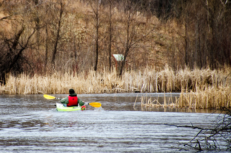 Week 17 of 52 Weeks in Eagan<br /> <br /> Kayaking on Schulze Lake