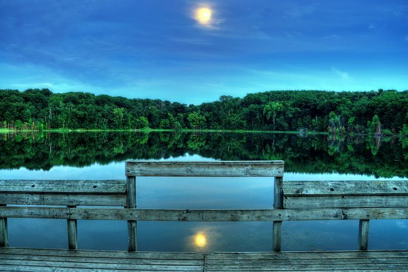 Holland Lake Double Moon