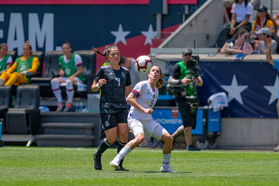 May 26, 2019 - Harrison, NJ, United States of America - 1st half of the game between USA and Mexico at the Red Bulls Arena - Harrison, NJ. (Credit Image: Carl Gulbish/BacklineSoccer)