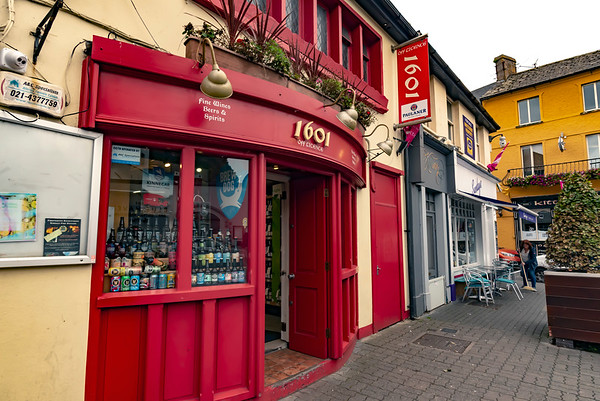 A colorful shop in Kenmare