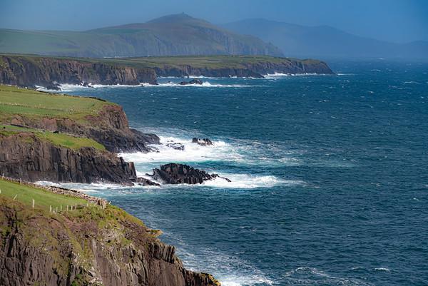 Beautiful coastal View of Dingle