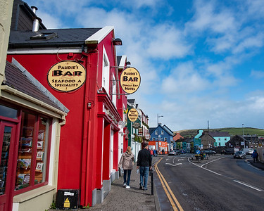 Paudie's Bar in Doolin, Ireland