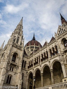 Pinnacles, The Paliament Building, Budapest, Hungary