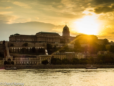 Castle Hill Sunset, Budapest, Hungary
