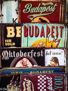 Old Ads, Budapest, Hungary