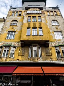 Vaci Street Building, Budapest, Hungary