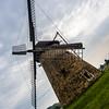 Tilted Windmill, Szentendre Skanzen, Hungary