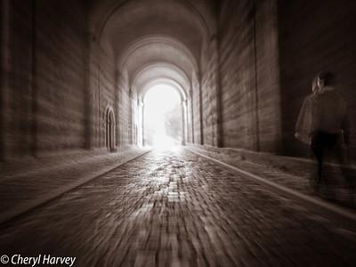 Inside the Dark Gate, Estergom, Hungary
