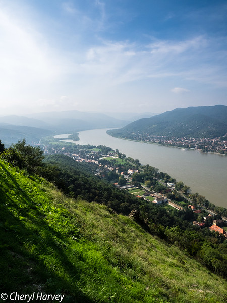 Visegard and the Danube, Hungary