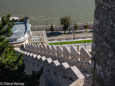 Stairs, Castle Hill, Budapest, Hungary