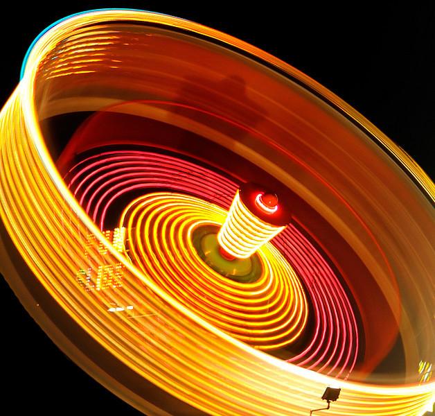 Zero Gravity ride. 2.5 second exposure