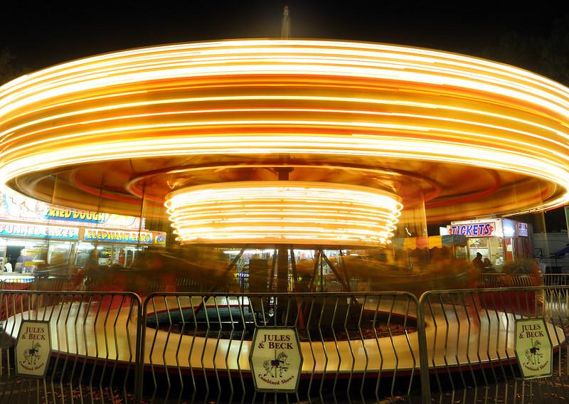 1957 Carousel. 2 second exposure