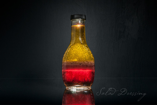 Salad Dressing - Experiment in Glass
