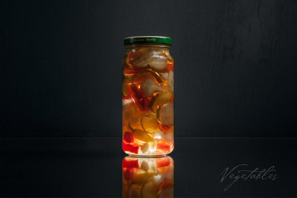 Vegetables - Experiment in Glass