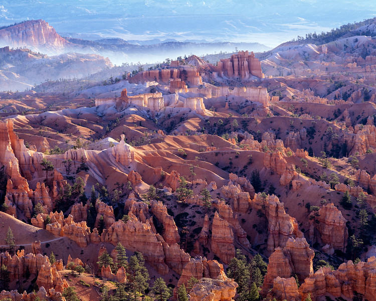 Bryce Amphitheater, Early Morning Mist