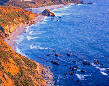 Point Sur Headlands, Late Afternoon  sat + 3