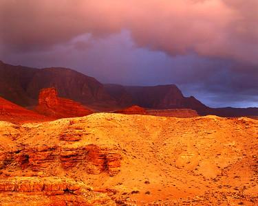Monsoon Over Vermilion Cliffs