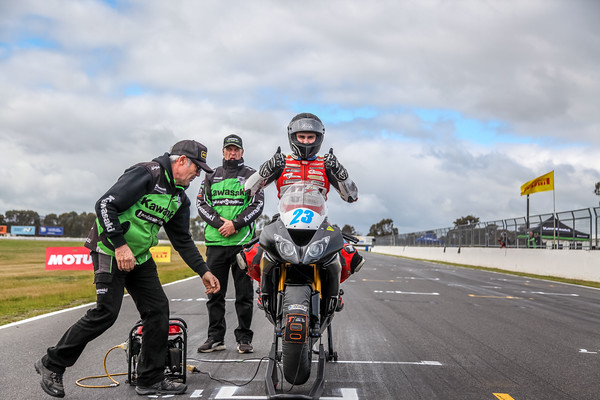 ASBK 2019 - Supersport 300 / Motorsports TV Supersport.