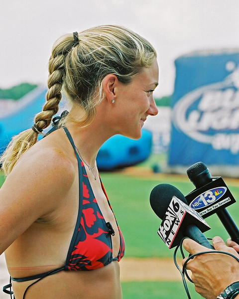 Kerri Walsh media day
